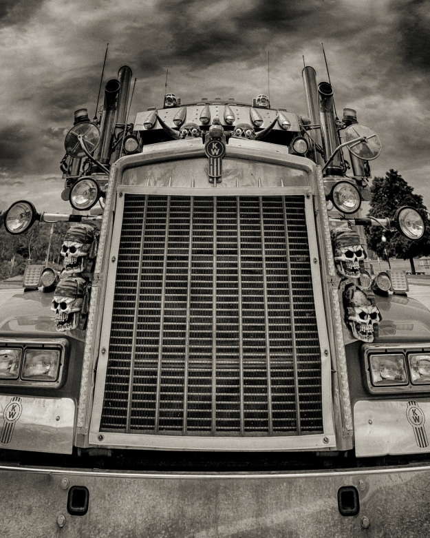 Dirty Truck Monochrm